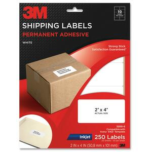 3M Shipping Label MMM3200S