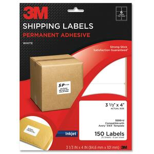 3M Shipping Label MMM3200U