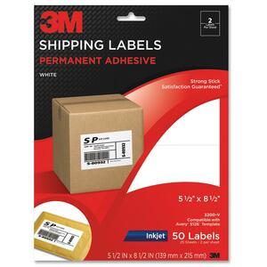 3M Shipping Label MMM3200V