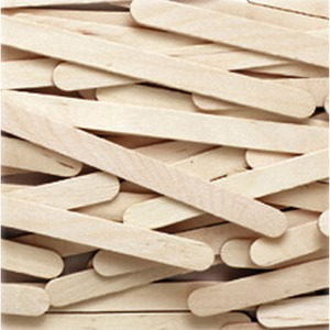 "ChenilleKraft Creativity Stree Economy Grade Craft Stick - 4.5"" x 0.38"" - Natural"