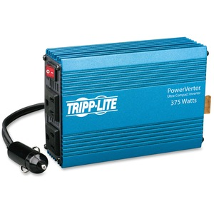 Tripp Lite Powerverter 375W 2 Outlet Ultra Compact DC to AC Inverter