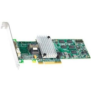 Intel Controller Card RS2BL040 4 Internal Ports SAS SATA PCI-E2 X8 512M MD2 Low Profile Retail