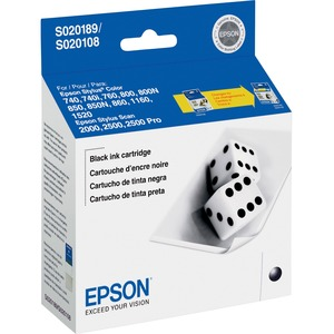 Epson Black Ink Cartridge - Inkjet - 634 Page - Black - 1