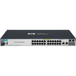 HP Procurve 2520-24-POE Manged 24 Port Switch 24 X 10/100 + 2 X Gigabit SFP 100/1000 PoE