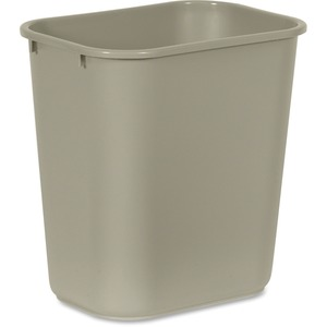 Rubbermaid Standard Series Deskside Wastebasket RCP295600BG