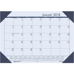 House of Doolittle EcoTones Desk Pad Calendar HOD124640