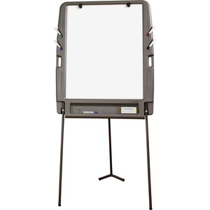 Portable Flipchart Easel with Dry-erase Surface