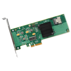 LSI SAS 9211-4I SGL 4-PORT INT 6GB/S SATA+SAS PCIe 2.0 Hba