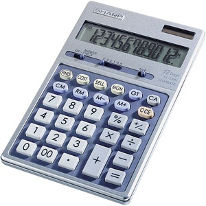 Sharp 12 Digit Desktop Handheld Calculator SHREL339HB