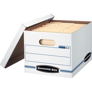 FELLOWES BANKERS BOX EASYLIFT HOLDS LETTER/LEGAL DOCS 12/CARTON