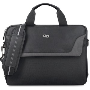 "Solo Sterling Carrying Case for 14.1"" Notebook - Black USLCLA1124"