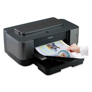 Canon PIXMA iX7000 Inkjet Printer - Color - 10.2 ppm Mono - 8.2 ppm Color - 4800 x 1200 dpi - USB - Fast Ethernet - PC, Mac