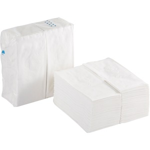 "Georgia-Pacific Preference 1/8 Fold Paper Dinner Napkin - Dinner Napkin - 2 Ply - 15"" x 16"" - White"