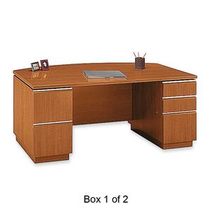 BBF Bush Business Furniture BSH500020A18200 Bush Milano Pedestal Desk at Sears.com