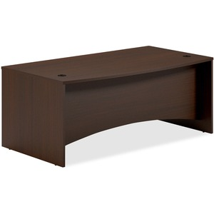 Mayline Brighton Bow Front Desk MLNBTBD7239LDC