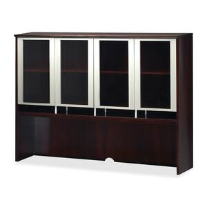 Mayline Glass Door Hutch MLNNH72MAH