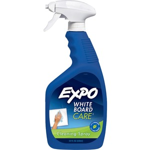 Expo Whiteboard Cleaner - Non-toxic - White, Blue