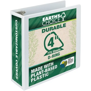 Samsill Earth's Choice Biodegradable D-Ring View Binder SAM16997
