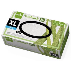 Medline Aloetouch Ice Examination Gloves MIIMDS195287