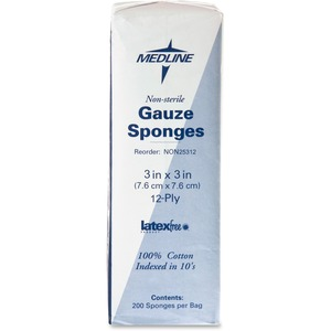 Medline Nonsterile Woven Gauze Sponges