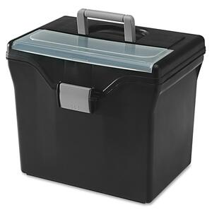 Iris HFB-24-TOP Portable File Box with Organizer Top IRS111022