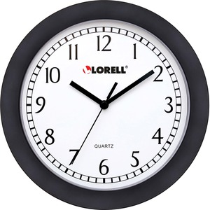 Lorell Round Profile Wall Clock - Quartz