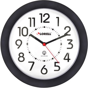 Lorell Radio Controlled Wall Clock - Quartz - Atomic