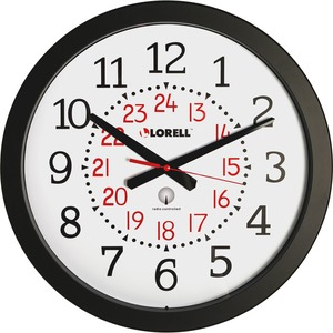 Lorell Radio Controlled Wall Clock - Quartz