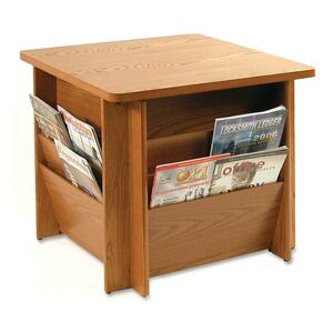 Buddy Table with Literature Rack BDY929811