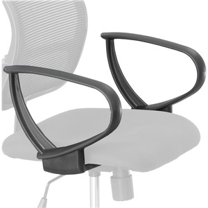 Vue Extended Height Mesh Chair Loop Arms