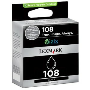 LEXMARK - CPD SUPPLIES 108 BLACK RETURN PROGRAM .