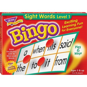 Trend T-6064 Sight Words Bingo Game TEPT6064