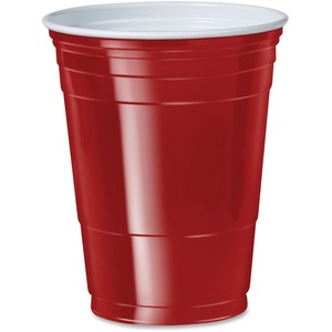 Solo Plastic Party Cup SLOP16RLRPK