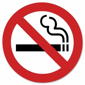 9602 No Smoking Sign