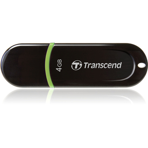 Transcend JetFlash 300 4 GB USB 2.0 Flash Drive