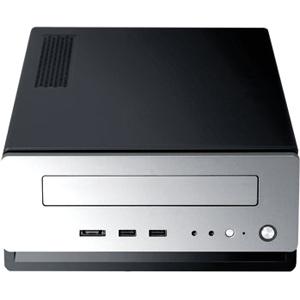Antec Black/Silver mITX Case 1X5.25 2X2.5 Front USB Audio eSATA 150W PSU