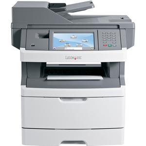 Lexmark X466DTE Multifunction Monochrome Laser Printer
