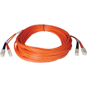5M DUPLEX MMF CABLE SC/SC 50/125 FIBER OPTIC/ FIBRE CHANNEL