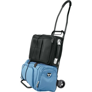 "Conair Travel Smart TS34F Flat Folding Multi-Use Cart - 120.00 lb Capacity - 2 x 4"" Caster - Steel"