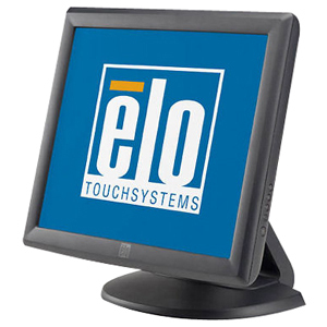 ELO - TOUCH SCREENS 1715L 17IN ACCUTOUCH DUAL SER/USB CTLR GRAY