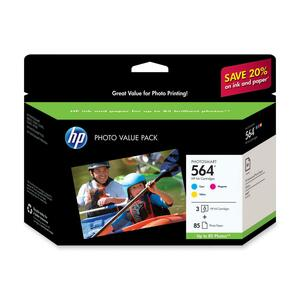 HP 564 Photo Value Pack Ink Cartridge HEWCG925AN