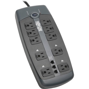 Tripp Lite Protect It 10-Outlets Surge Suppressor TRPTLP1008TEL