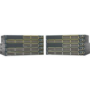 Cisco Catalyst 2960 48-PORT 10/100/1000 2-PORT SFP Uplinks LAN Lite Feature Switch