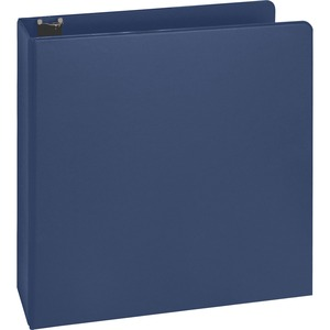 Business Source Basic Round Ring Binder with Pockets BSN16464