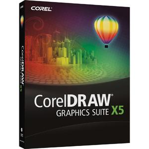 Corel CorelDRAW Graphics Suite X5 - Upgrade Version - PC - Mini Box