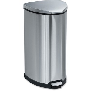 Safco Step-On Waste Receptacle SAF9687SS