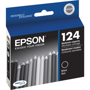 Epson DURABrite 124 Moderate Capacity Ink Cartridge EPST124120