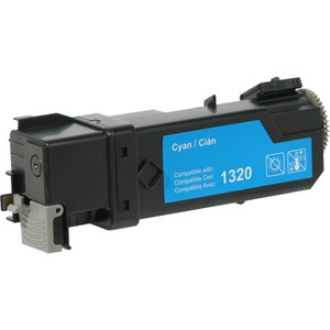 V7 Cyan High Yield Toner Cartridge for Dell 1320c - Laser - 2000 Page