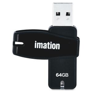 Imation 64GB Swivel USB 2.0 Flash Drive IMN27794