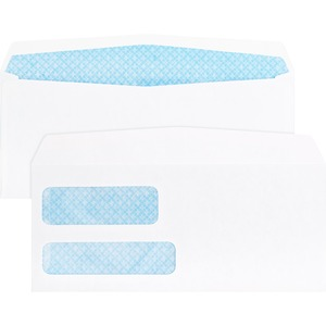 Business Source Double Window Envelope BSN36680